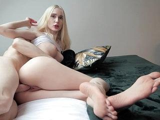 Petite Blonde Teen Likes When You Cum Inside Her! 19 min