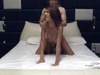 Skinny Teen Escort Caught On Hidden Camera 12 min