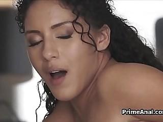 Latina gf ass fucked and she likes it!
