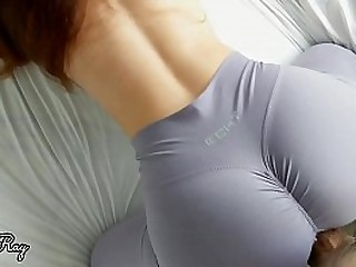 Yoga babe needs a good creampie after her workout
